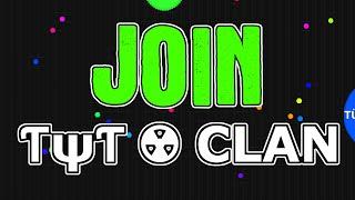 join ƭψƭ clan tyt agario recruitment challenge tytrc agar io over