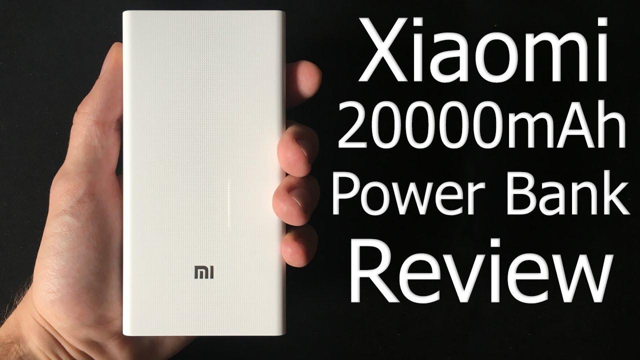 xiaomi power bank 20000mah review