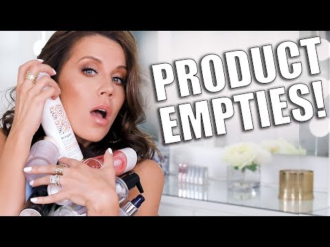 PRODUCT EMPTIES  BEAUTY IM OBSESSED WITH