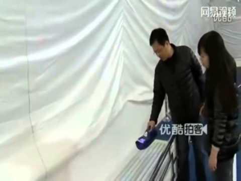 Beijing school builds giant smog-free domes