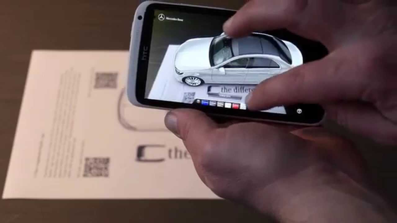 2014 Mercedes C-Class - augmented reality app (poszerzona ...