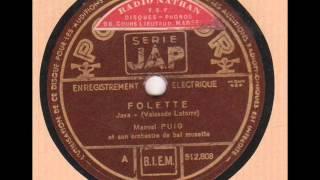 """Manuel Puig """" Folette """"  1936"""