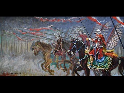 Szarża husarii na wioskę