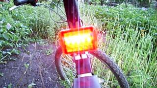 5 LED Bike Tail Light Bicycle Red Flash Light Rear Lamp 7 Mode Banggood