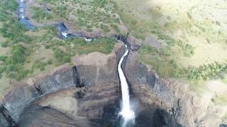 Самый Высокий Водопад Евразии На Р Канда. Плато Путорана