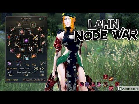 Black Desert Online Lahn (Lethal Skill) Node War PvP @1440p