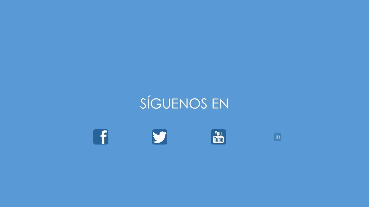 Plantilla demo redes sociales 7 - YouTube