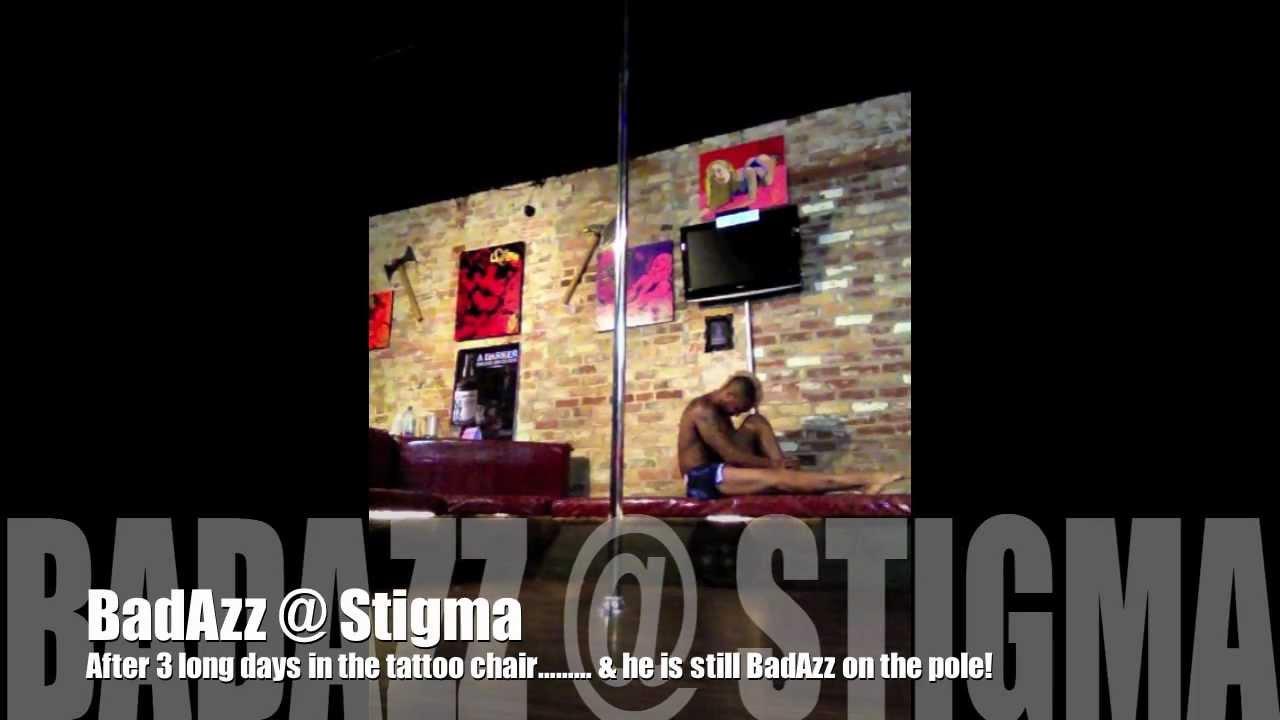 josiah badazz grant at stigma tattoo bar youtube