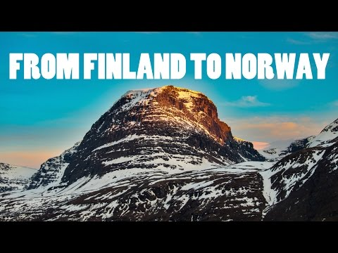 FROM HELSINKI TO SKIBOTN - NORWAY TRIP