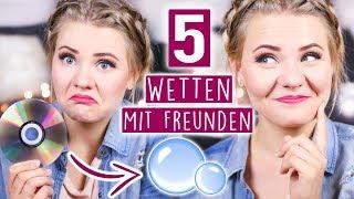 5 WETTEN, die du IMMER GEWINNST! - Tricks für Partys, Geburtstage & Co!