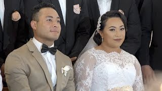 Mr & Mrs Sione & 'Ilafehi Sevele - Wedding Ceremony