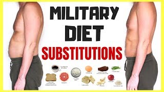 MILITARY DIET SUBSTITUTE FOOD LIST | Vegan, Vegetarian, Food Allergies, Picky Eaters