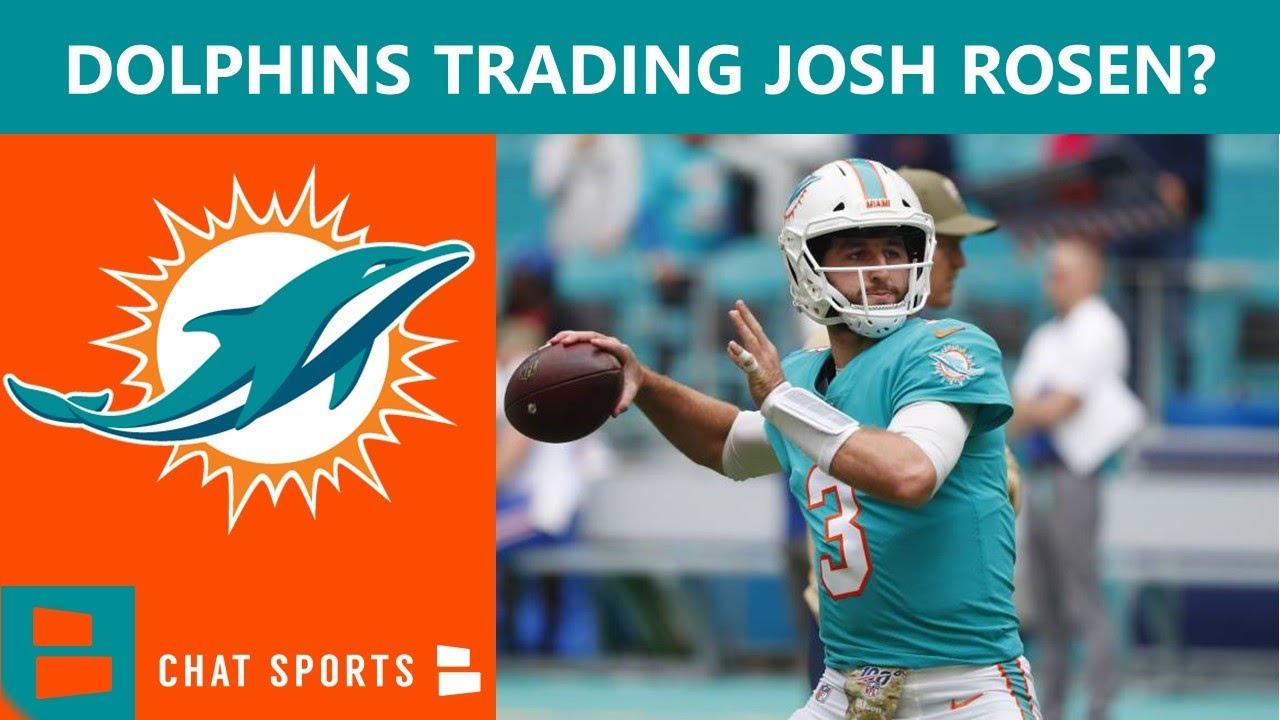 Source - Dolphins release quarterback Josh Rosen