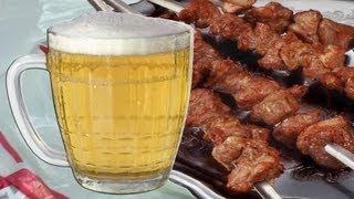 Шашлык в пиве(Shashlik in beer)