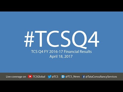 TCS Q4 FY 2016-17 Financial Results