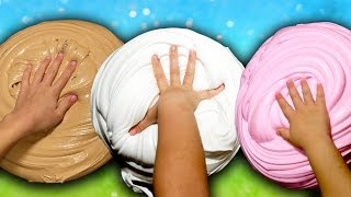 Soft Serve Slime Recipe GIANT SIZE How To! $100 DIY Slime Challenge