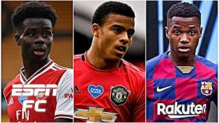 Bukayo Saka, Mason Greenwood or Ansu Fati: Who has the highest ceiling? | ESPN FC Extra Time