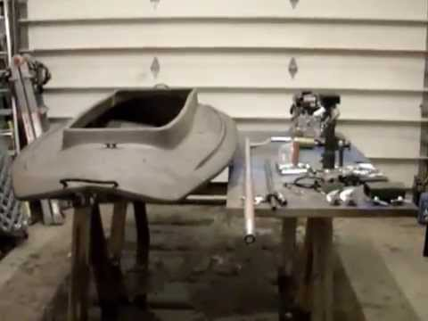 Wing Whacker II Mud Motor and Layout Boat Build Part 1 rev #1