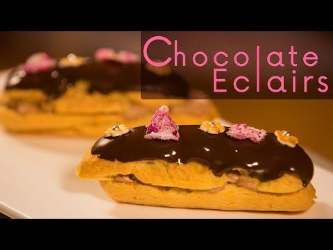 Chocolate Eclair | Meghna's Food Magic ∣ Pure Magic ∣ Ep #12
