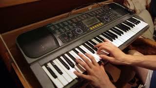 Casio keyboard - Dark electro improvisation