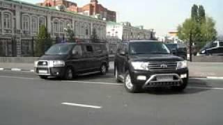 выезд Медведева из Саратова