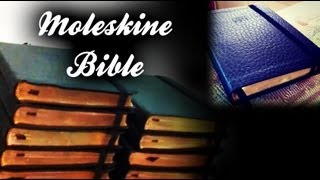 MOLESKINE Bible custom book Hack making New King James Version note NKJV Hints Tips elastic band