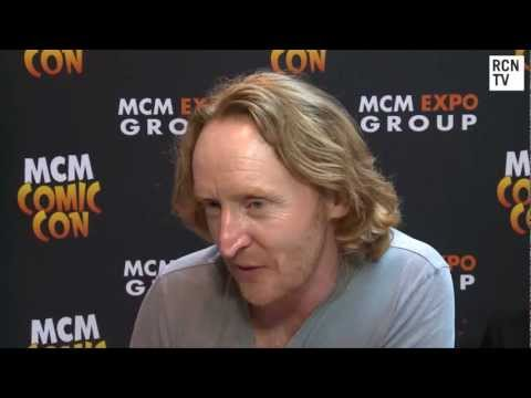 Doctor Who Tony Curran Interview - Vincent & Matt Smith