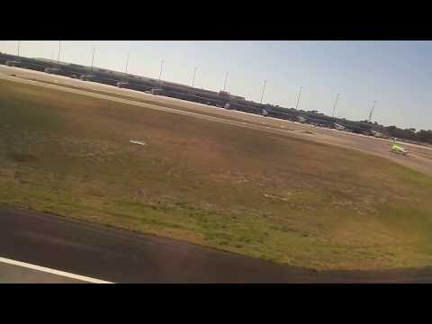 Landing at Adelaide airport