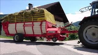 Heuernte 2018 MF Lindner Pöttinger Fendt Krone Lasco   grass mowing & hay harvesting at austria alps