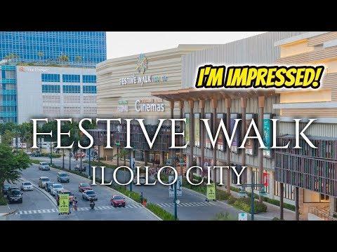 Exploring FESTIVE WALK MALL in Iloilo City (The rising provincial city) 2019
