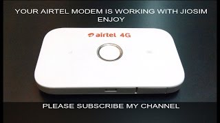 adding reliance jio or any apn on unlocked airtel 4g huawei e5573 and working on it