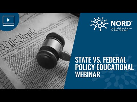 State vs  Federal Policy Educational Webinar