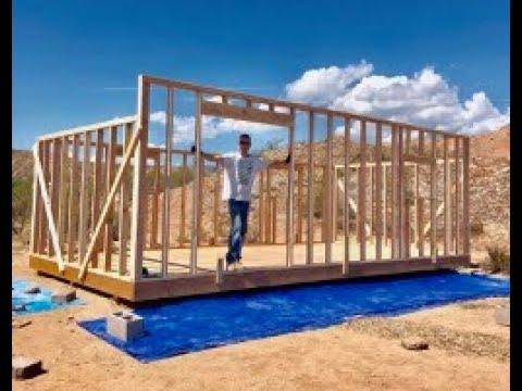12'x24' DIY Shed Build (Part 3 – Walls)