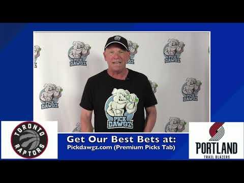 Portland Trail Blazers vs Toronto Raptors 7/26/20 Free NBA Pick and Prediction NBA Betting Tips