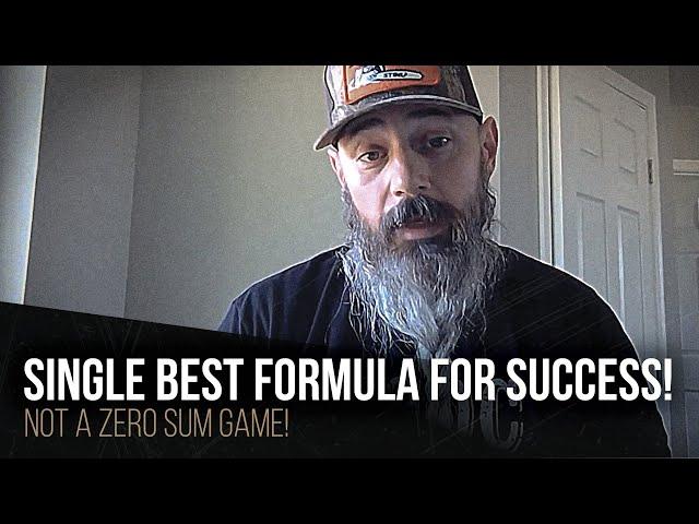 Single best formula for success!
