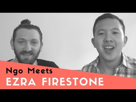 Interviewing E-commerce Icon Ezra Firestone