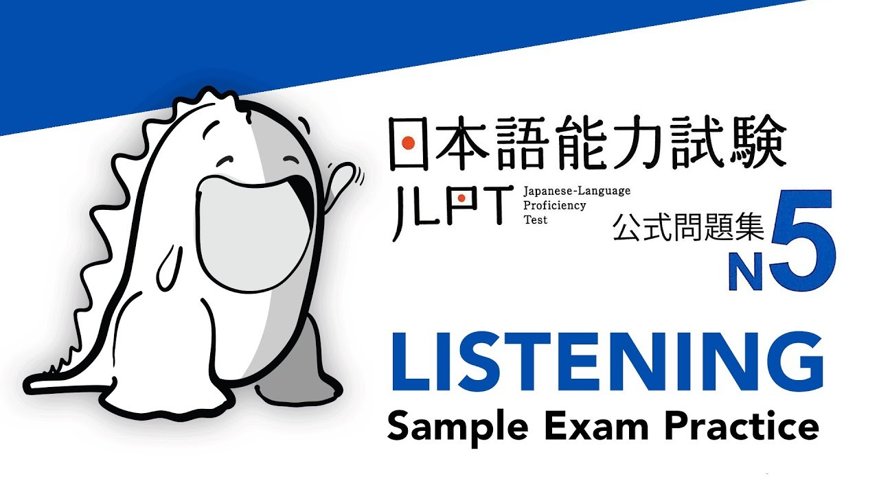 Repeat JLPT N5 LISTENING Sample Exam with Answers by