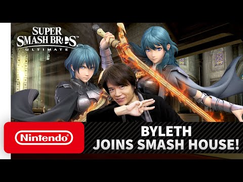 Super Smash Bros. Ultimate – Mr. Sakurai Presents 'Byleth' - Видео онлайн