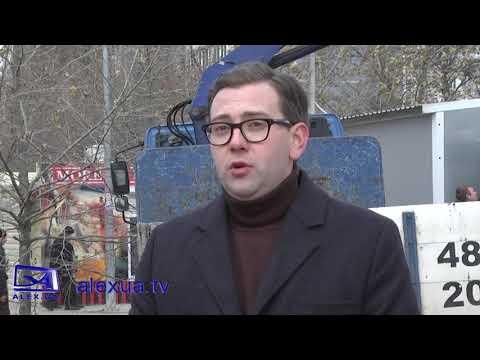 Телеканал ALEX UA - Новости: В Запоріжжі за рік прибрали 200 незаконних МАФів