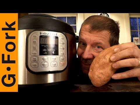 How long do i cook sweet potatoes in the instant pot