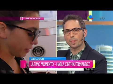 Cinthia Fernández reconoció que le revisa el celular a Defederico