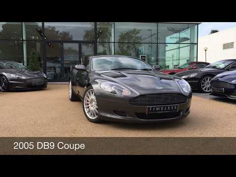 Aston Martin DB9 Coupe in Meteorite Silver available at Aston Martin Chichester