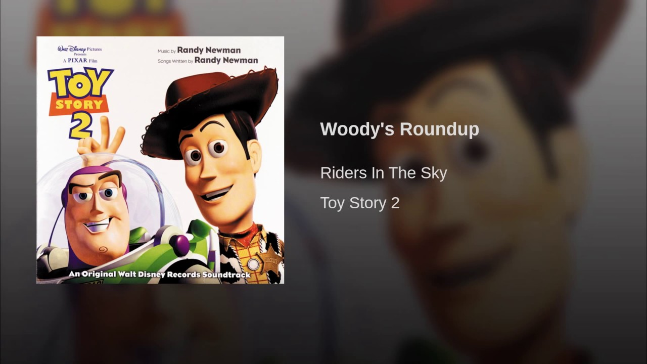 Phone toy story 2 soundtrack woodys roundup