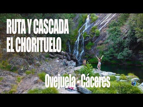 RUTA Y CASCADA DEL CHORITUELO EN OVEJUELA CÁCERES