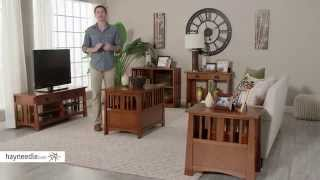 Belham Living Everett Mission Pet Crate End Table - Product Review Video