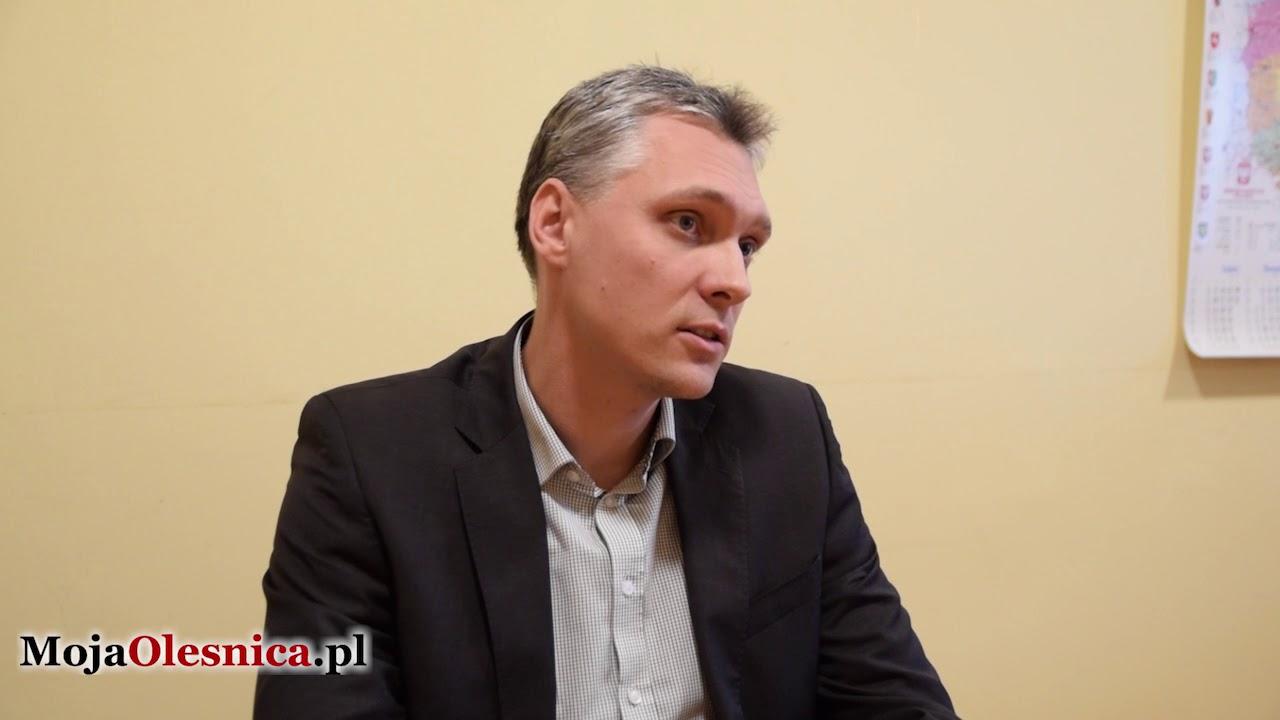01.2018 Oleśnica – wywiad z dyrektorem zespołu szpitali