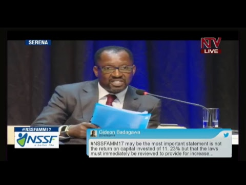 LIVE: NSSF ANNUAL MEMBER'S MEETING 2017