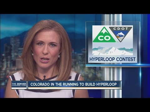 Colorado in the running to build hyperloop