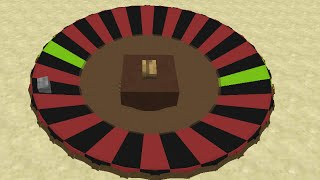 Roulette Wheel in Minecraft 2.0