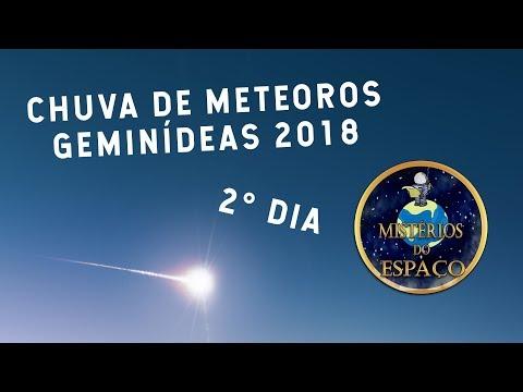 AO VIVO: CHUVA DE METEOROS GEMINÍDEAS 2017 (2° DIA)